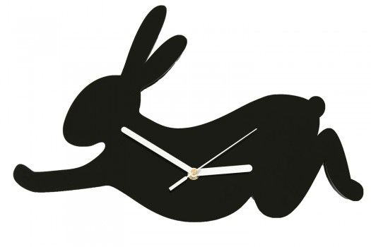 Wall clock RABBIT - pefrect accent to your walls.