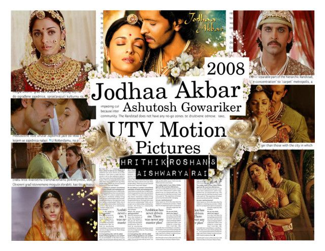 """Jodhaa Akbar, 2008"" by dalya-b ❤ liked on Polyvore featuring art"