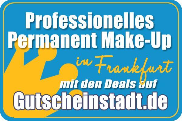 Mit Glück kräftig sparen beim professionellen #Makeup in #FrankfurtMain mit #Gutscheinstadt