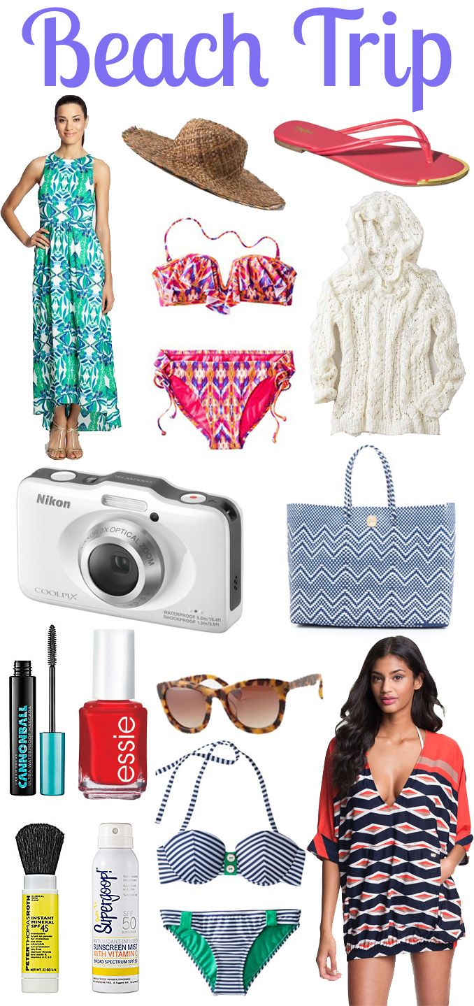 What to Pack For A Beach Vacation!