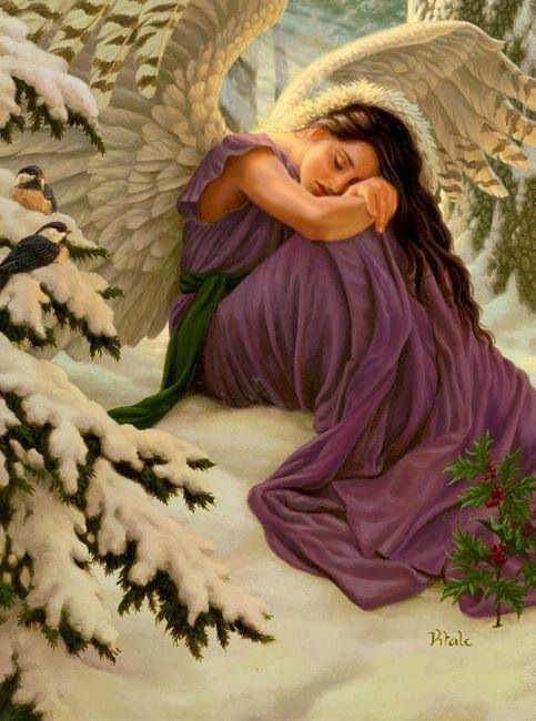 ~J  She is precious...but I hope she is not a ....guardian angel...just saying !
