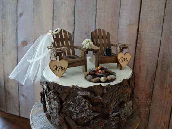 Pays mariage chaise wedding cake topper par MorganTheCreator