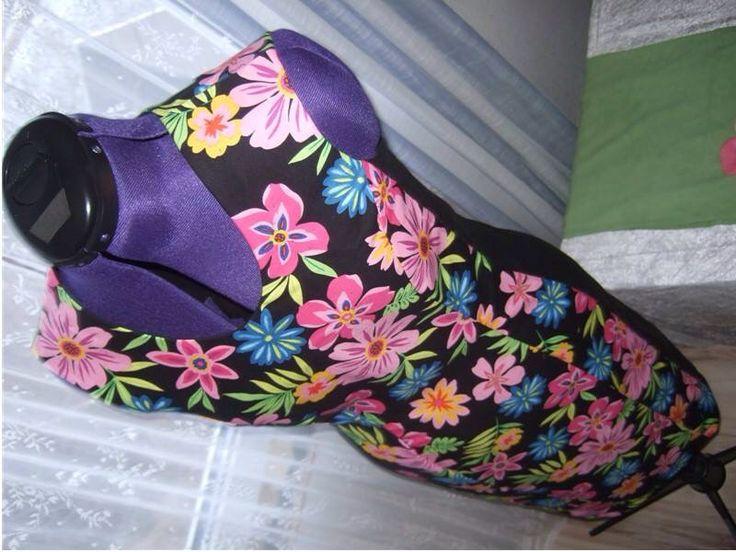 Flowers Tube Dress