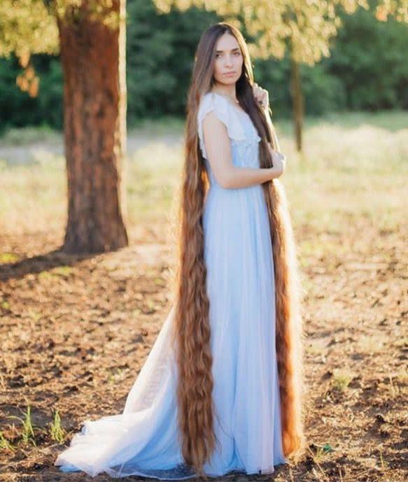 Long beautiful hair princess #Rapunzel #longhair