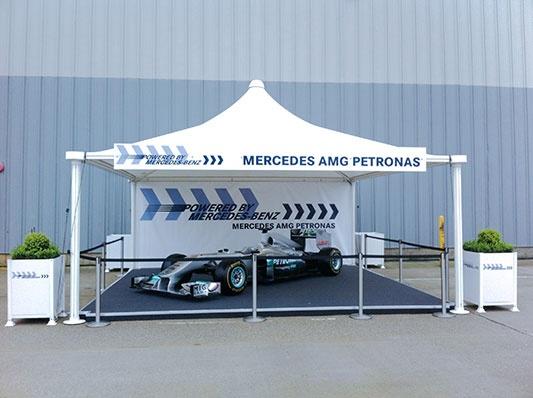 Mercedes open day 2012