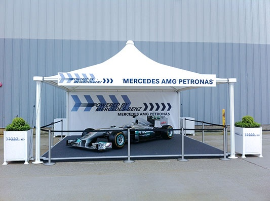 Mercedes open day 2012