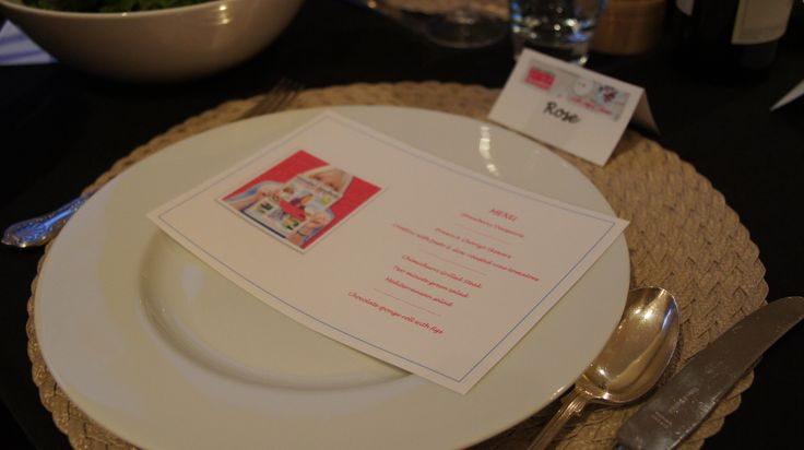 Menus and place cards to personalise our table setting! #afreerangelife @Annabel Langbein
