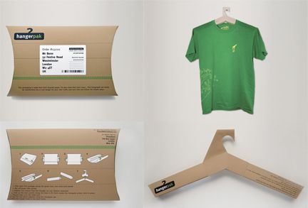 Thinking of plastic? Forget about it! A box to ship your shirts and hang them up too.