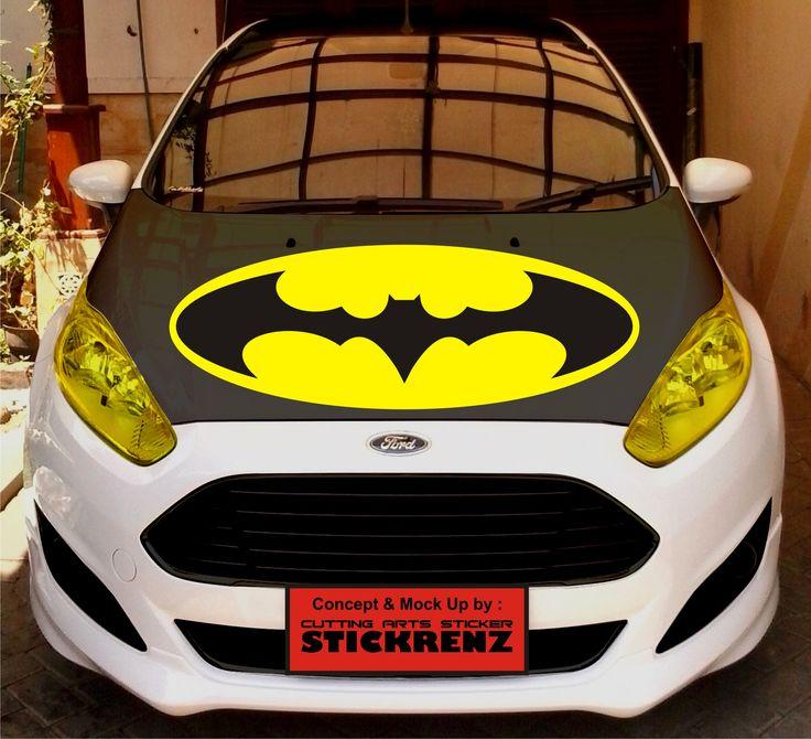 Car Custom Hood Cutting Sticker Concept - Fiesta 012