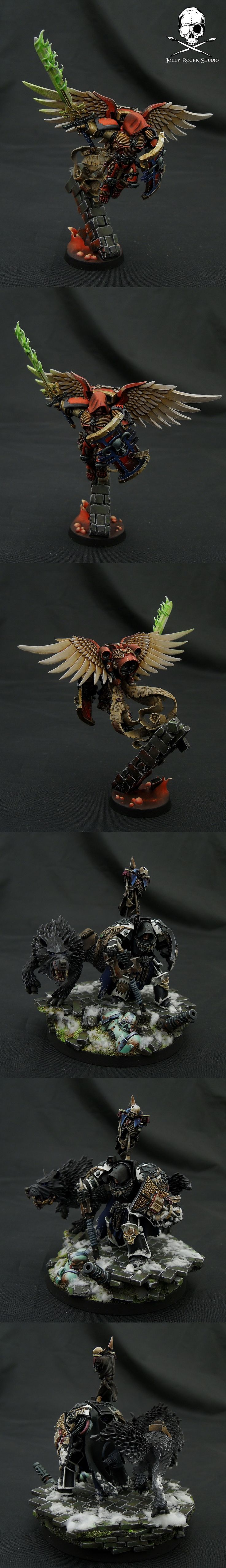 Amazing conversion work and painting.  Great color pallettes