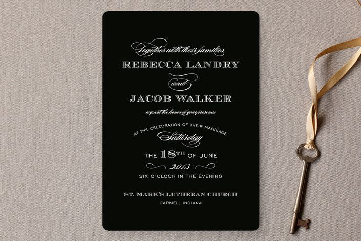 Examples Of Wedding Invitation Wording Hosted By Bride And Groom: 25+ Best Ideas About Invitation Wording On Pinterest