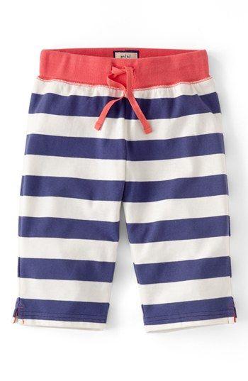 Mini Boden Stripe Capri Pants (Little Girls & Big Girls ...