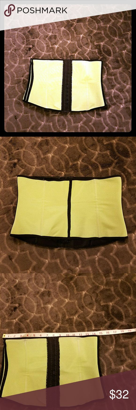 Green waist trainer corset Green waist trainer corset. Measurements in photo (photo 3 under the bust, 4 hip, 5 length Other