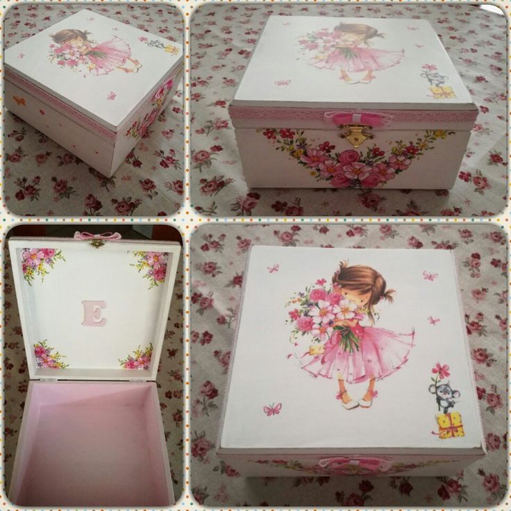Wooden box for little princesses