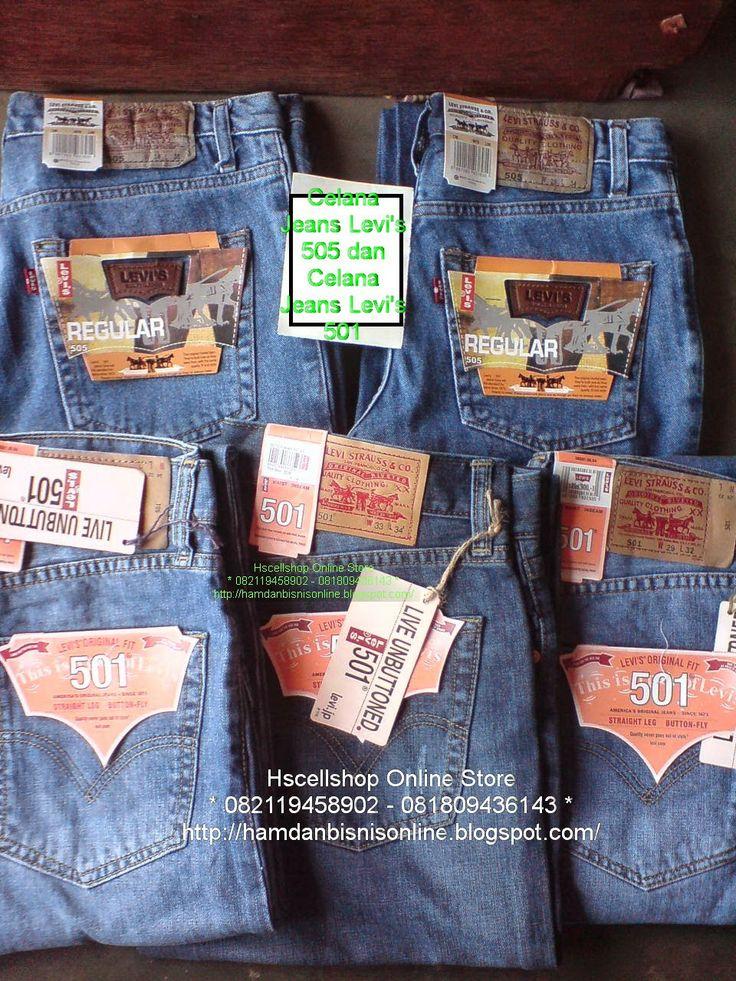 hscellshop: Celana Jeans Levi's 505 dan Celana Jeans Levi's 50...