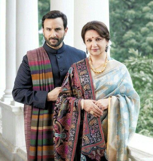 Saif Ali Khan e Sharmila Tagore