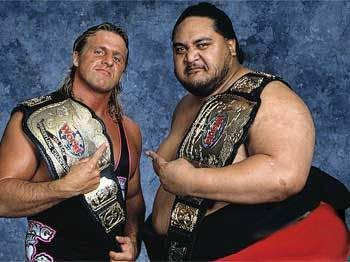 Owen Hart and Yokozuna - Pro Wrestling Wiki - Divas, Knockouts, Results, Match histories, Titles, and more!