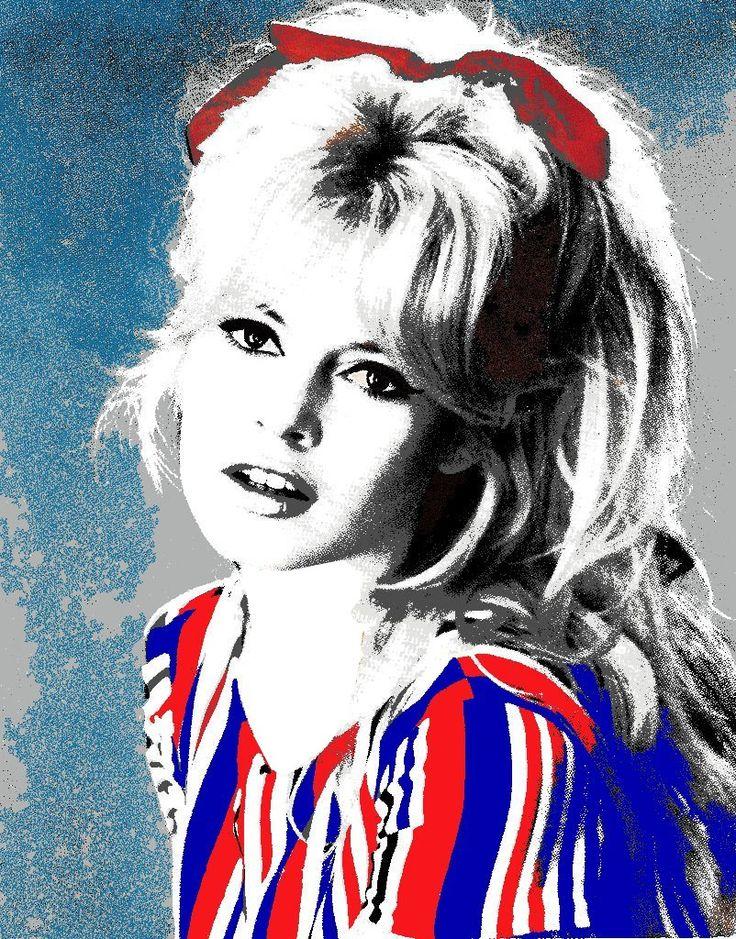 Graphics Brigitte Bardot