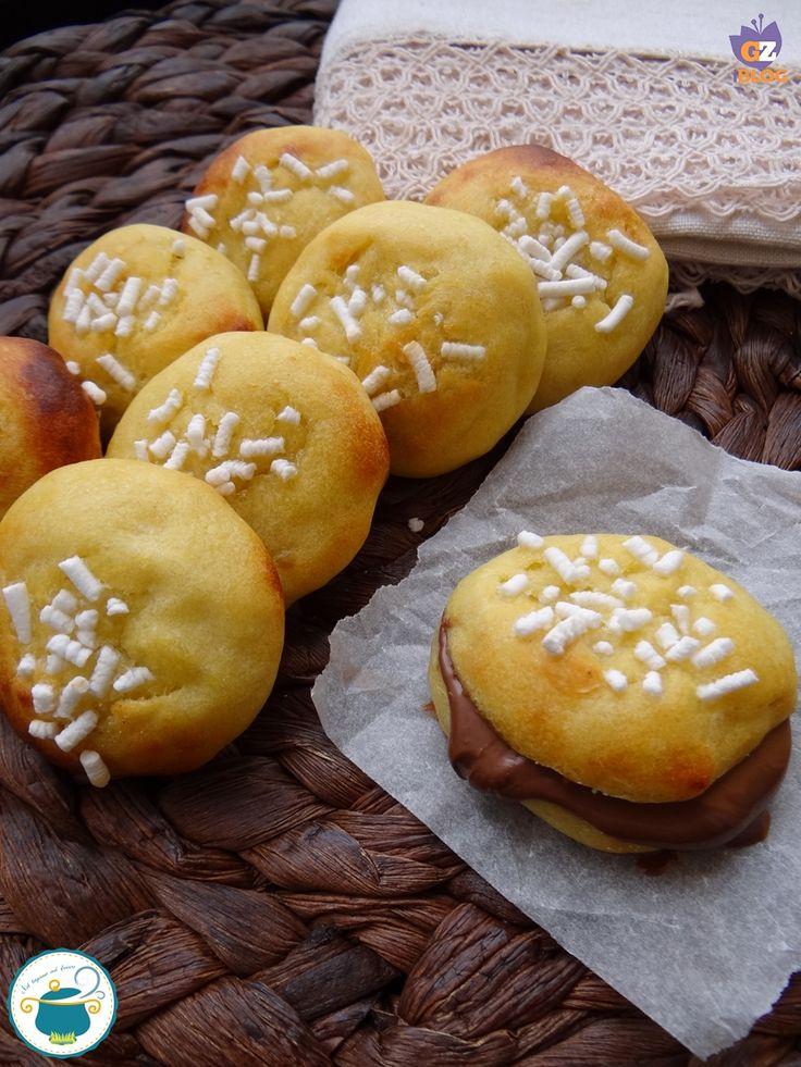 panini di patate farciti con crema gianduia