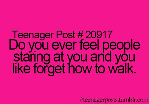 teenager posts. ♕