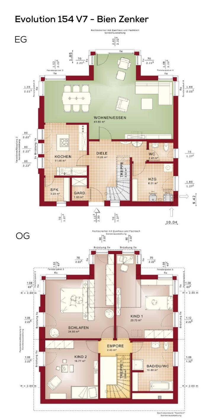 207 besten grundriss einfamilienhaus bilder auf pinterest. Black Bedroom Furniture Sets. Home Design Ideas
