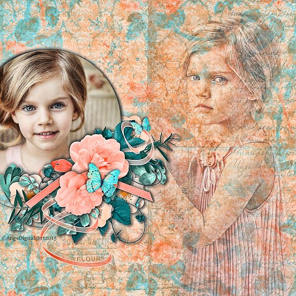Summer lady by Kastagnette @....  http://www.mymemories.com/store/designers/Kastagnette @..... http://www.digiscrapbooking.ch/shop/index.php?main_page=index&manufacturers_id=129&zenid=a5a2a722c8ef5c4f91990e1120096184%22 Photo Anastasia Serdyukova Photography Use with Permissions ©AngeDigital@rt2015 All Rights Reserved
