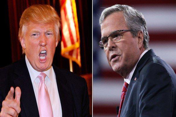 Bush y Trump dominaron el 2do debate entre candidatos presidenciales republicanos | Impacto CNA | Adribosch's Blog