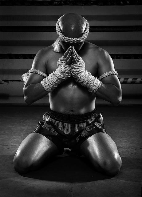 Ram Muay by MatthewMoore, via Flickr/ muay thai fighter