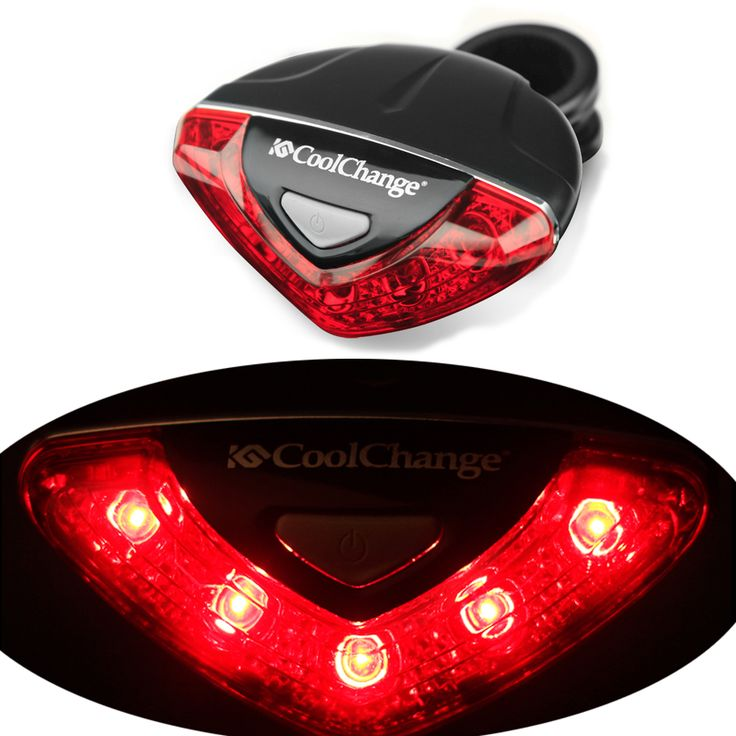 CoolChange Bike Bicycle Cycling Rear Tail Lights Safety Warning Lamp turn signals stop parking tail light for bicycle