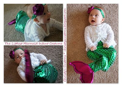 The Littlest Mermaid Infant Costume