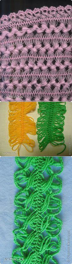 МК .вязание на вилке.