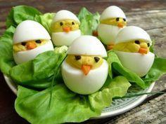 Eierkuikentjes voor de brunch