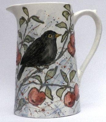 Dairy Jug - Blackbird