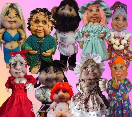 как сделать куклу с Галиной Каликиной