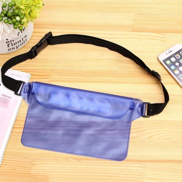 Portable Waterproof Underwater Waist Bag Swimming Beach Dry Pouch Case Wallet UK