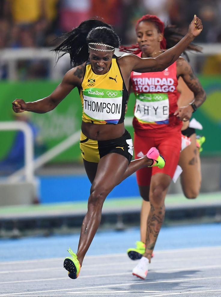 <五輪陸上>トンプソン短距離2冠達成 28年ぶり #トンプソン #陸上 #リオ五輪