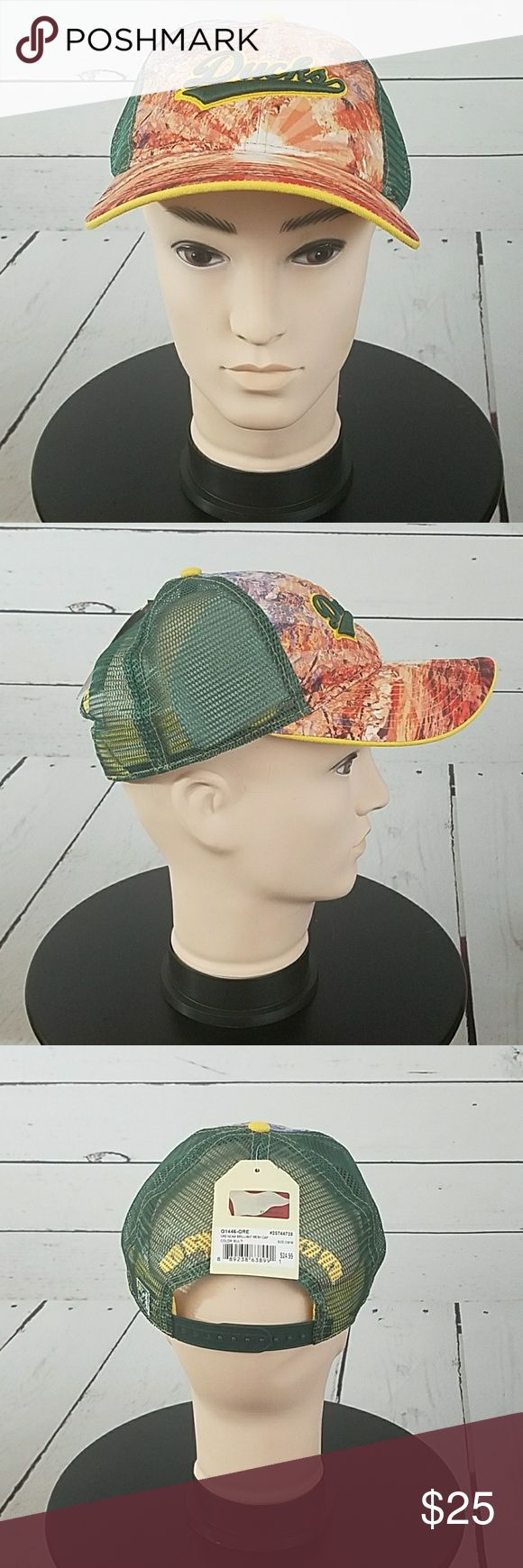 Oregon Ducks Splatter Hat Snap Back Adjustable. Oregon Ducks Splatter Hat Snap Back Adjustable. Brand New With Tags Game Time Accessories Hats
