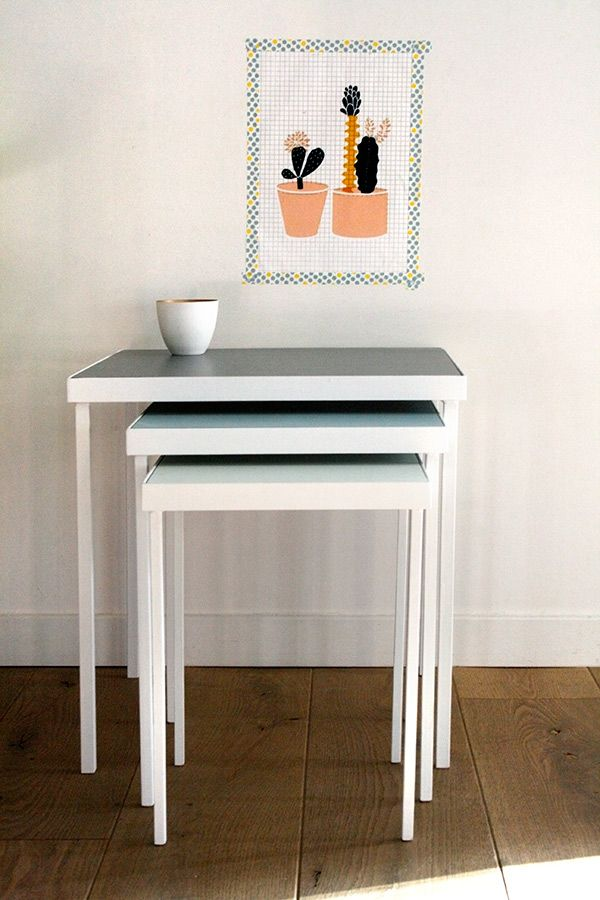 82 best DIY BOIS MEUBLE PEINT images on Pinterest Painted