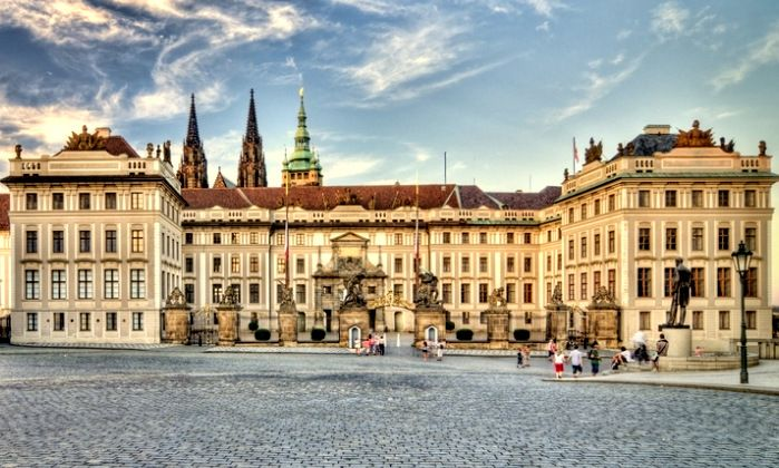Prague Castle - Constructed in the 9th century.