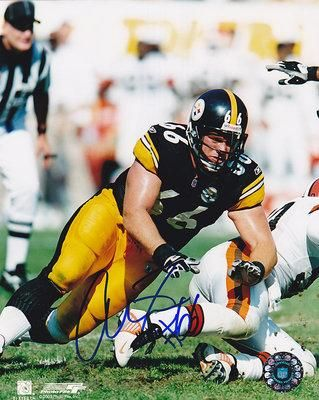 alan faneca football card | alan faneca photo 8x10 signed alan faneca photo 8x10 alan faneca ...