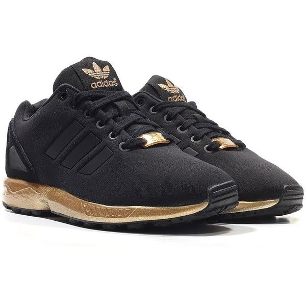 Office Adidas Zx Flux W Black/Bronze for Sale ❤ liked on Polyvore featuring adidas jersey and adidas