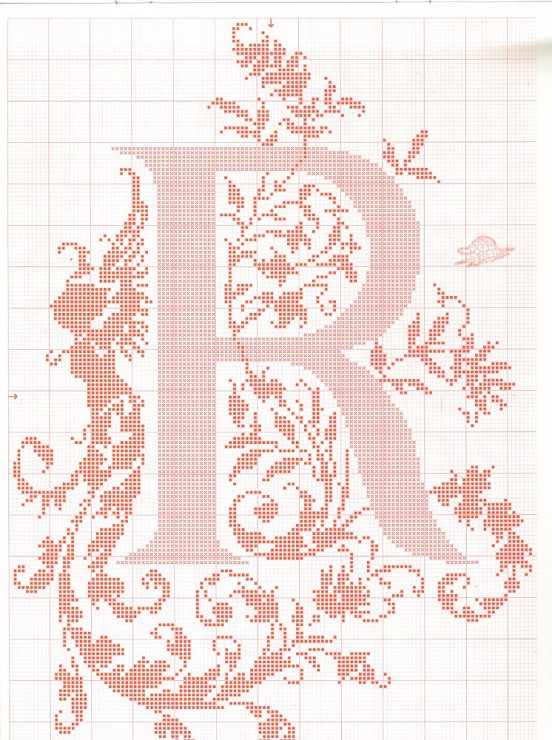 crossstitch alphabet add this to the photo wall?