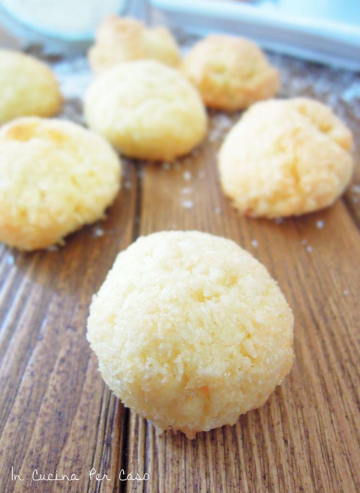 Biscotti al cocco - Coconut cookies