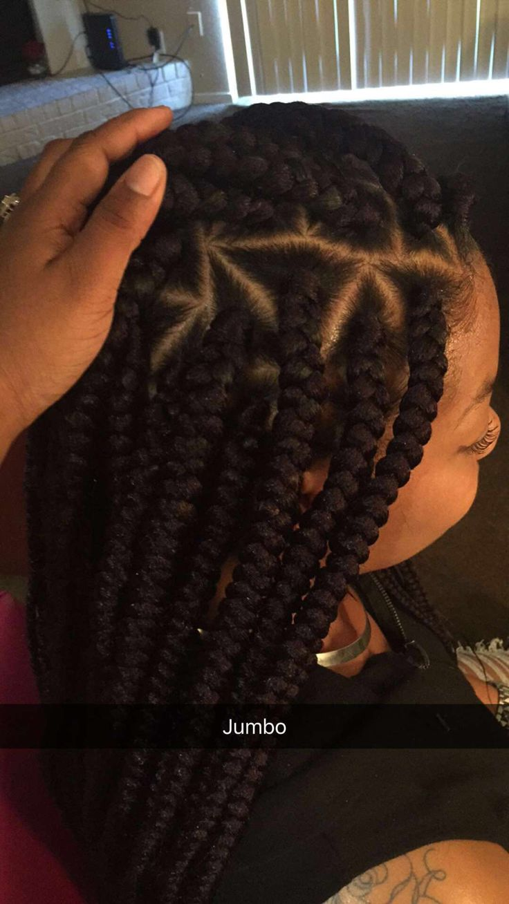 Jumbo Triangle Bb Beautybytee Braids Braided