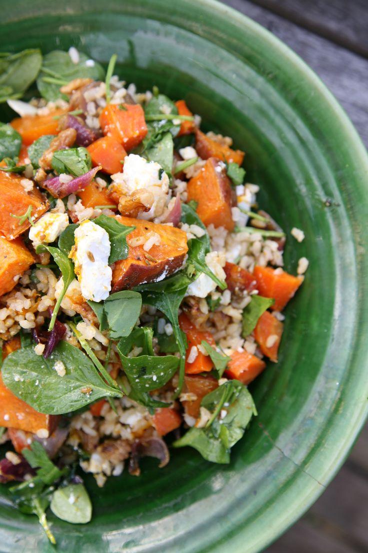 Autumn Harvest Brown Rice SaladRipe Recipes - A Fresh Batch By Angela Redfern