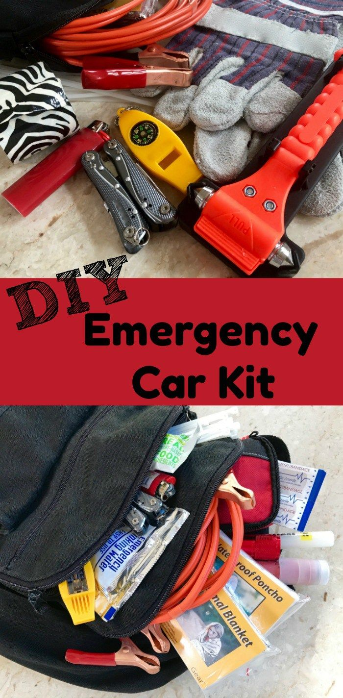 Diy tutorial for a basic emergency kit and recommend you include items that fit your needs