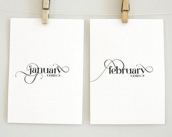 Printable planner pages for Mambi Monthly par aTypeOfInspiration