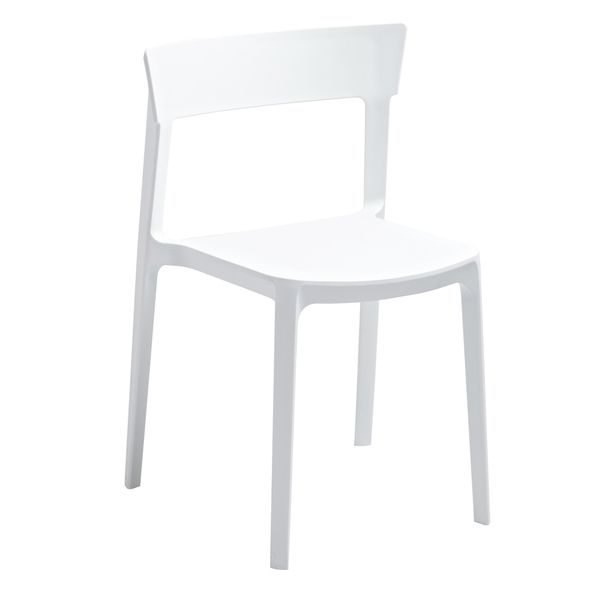 Beau American Atelier Living Austin White Chair   Overstock™ Shopping   Great  Deals On American Atelier