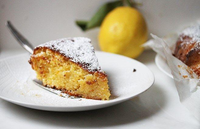 Syrlig mandel-citruskage - ChriChri