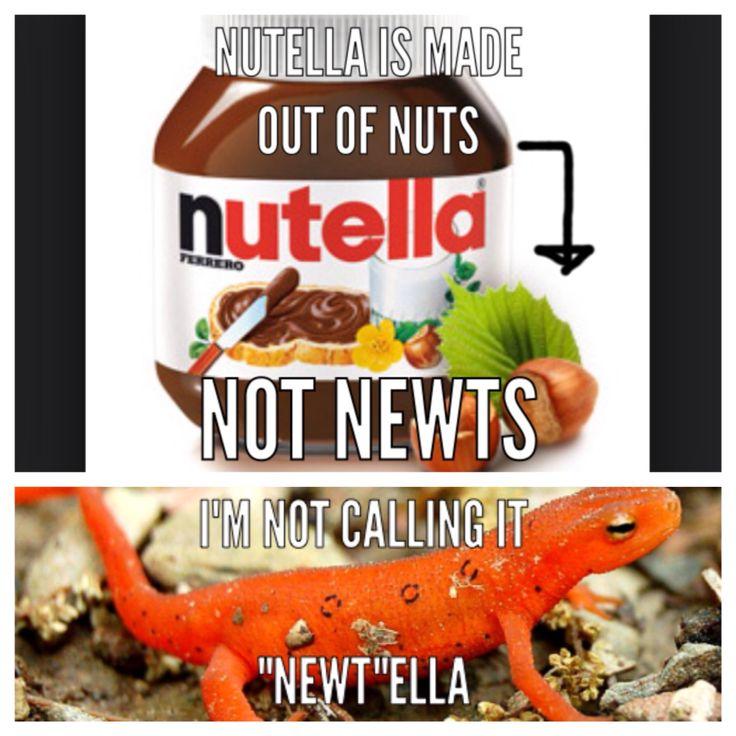Nutella pronunciation Nutella vs Newtella